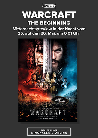 Warcraft: The Beginning - Mitternachtspreview