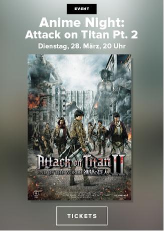 Anime Night: Attack on Titan 2