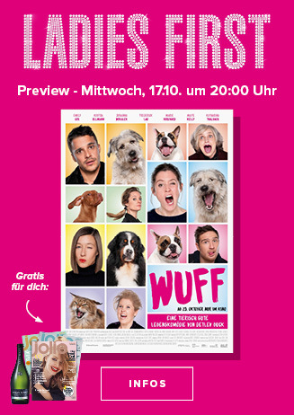"""Ladies First Preview """"Wuff"""""""