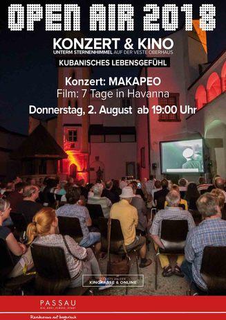 """2. Abend: """"Konzert & Kino unterm Sternenhimmel"""""""