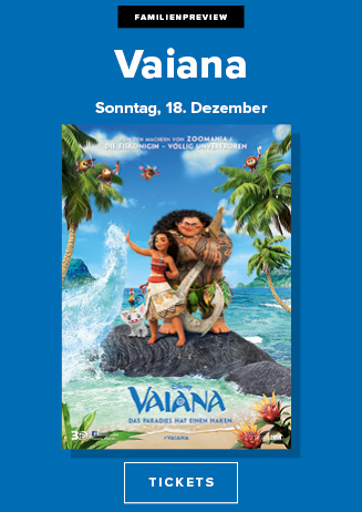 18.12. - Familienpreview: Vaiana