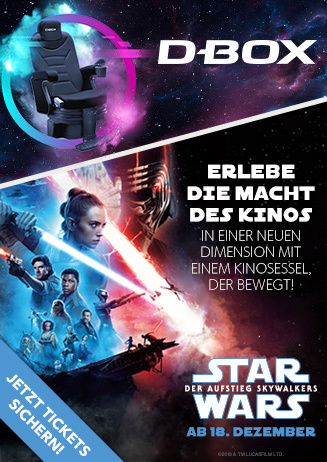 Star Wars in D-Box Motion Seats