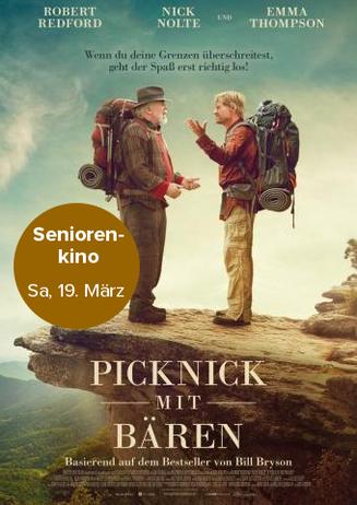 Seniorenkino: Picknick mit Bären