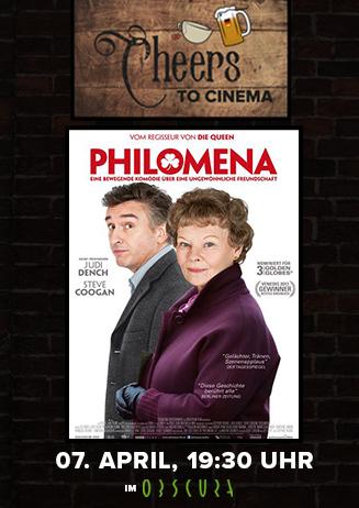 Cheers to Cinema: Philomena