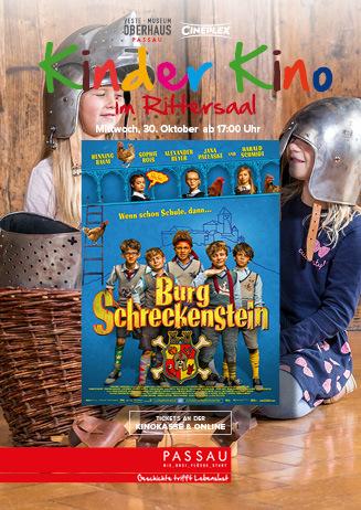 """Kinder Kino im Rittersaal: """"Burg Schreckenstein"""""""