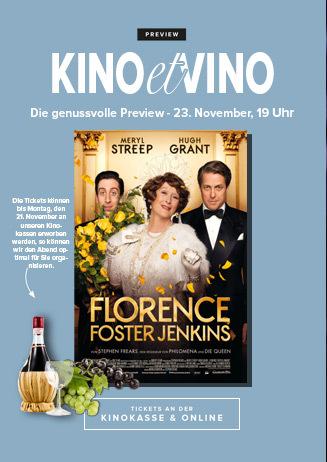 23.11. - Kino et Vino: Florence Foster Jenkins