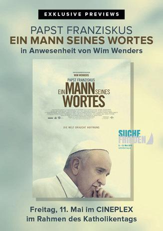 Exklusive Previews: Papst Franziskus - Ein Mann seines Wortes