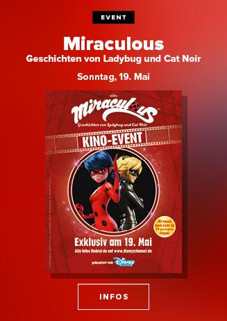 Miraculous - Geschichten von Ladybug und Cat Noir am 19.05.2019