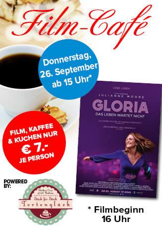 """190926 Film-Café """"Gloria - Das Leben wartet nicht"""""""