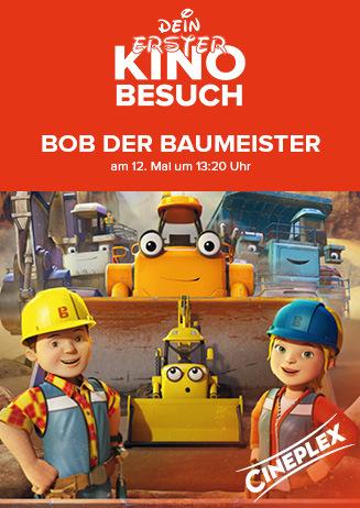 """Dein erster Kinobesuch: """"Bob der Baumeister - Das Mega Team"""""""