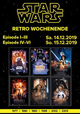 Star Wars Weekend: Episoden 1-6