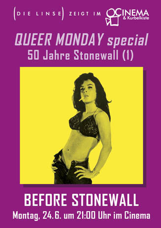 Queer Monday: BEFORE STONEWALL