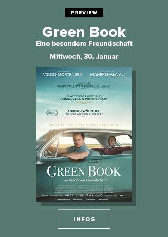 Preview: Green Book - Eine besondere Freundschaft