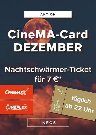 CineMa Card Monatsaktion Dezember