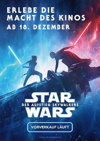 Ab jetzt im Vorverkauf: Star Wars: Der Aufstieg Skywalkers