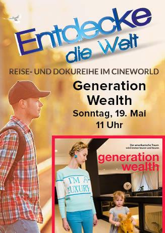 """190519 EdW: """"Generation Wealth"""""""