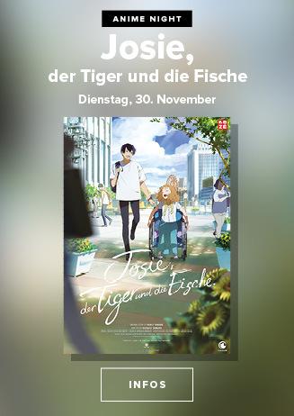 Anime Night 2021: Josie, der Tiger und die Fische am 30.11.2021