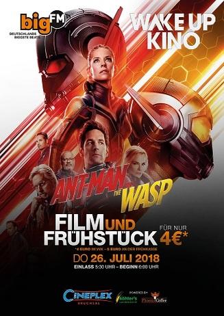 bigFM WakeUpKino: ANT-MAN AND THE WASP