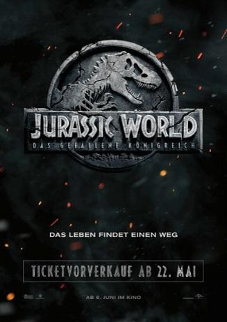 Ankündigung Vorverkaufsstart Jurassic World