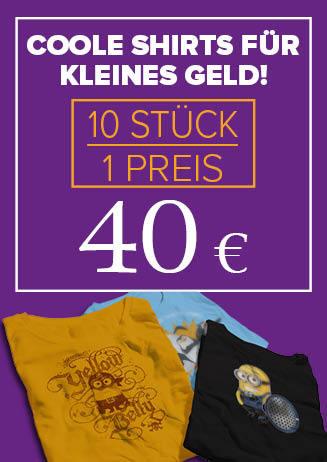 210531 T-Shirts 10er 40,-