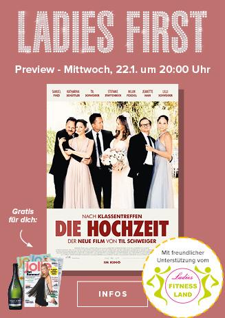 """Ladies First Preview: """"Die Hochzeit"""""""