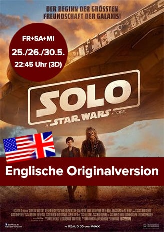 "Englische Originalversion: ""Solo: A Star Wars Story"""