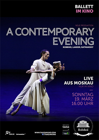 Bolschoi Ballett: A CONTEMPORARY EVENING