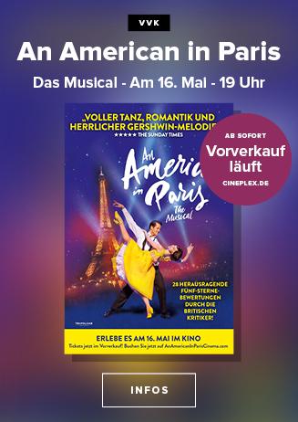 "VVK läuft: Erfolgsmusical ""An American in Paris"""