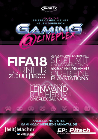 Gaming @ Cineplex