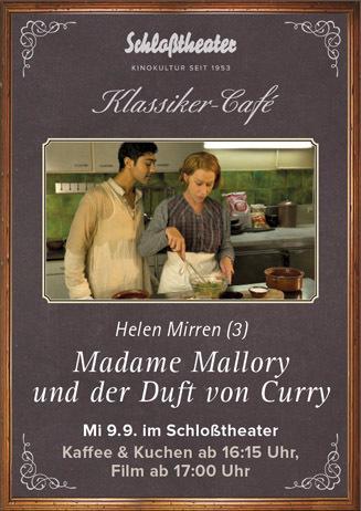 Klassiker-Café: MADAME MALLORY UND DER DUFT VON CURRY