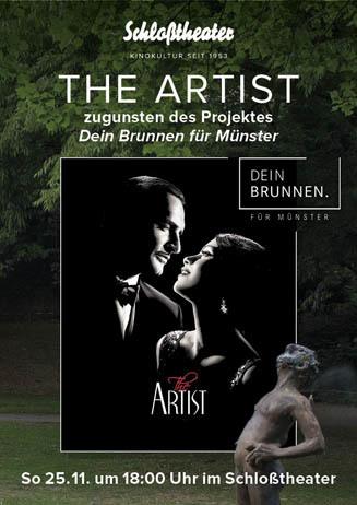 """THE ARTIST für das Projekt """"Dein Brunnen für Münster""""."""