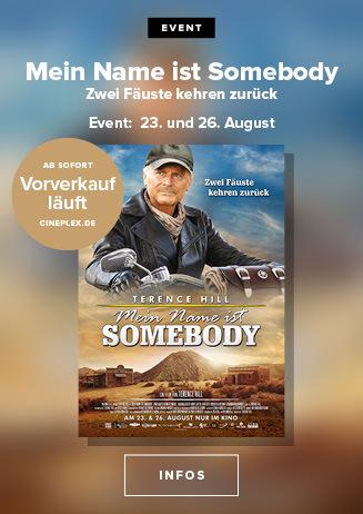 23. und 16.08. - Event: Mein Name ist Somebody