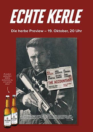 "Echte Kerle-Preview ""The Accountant"""
