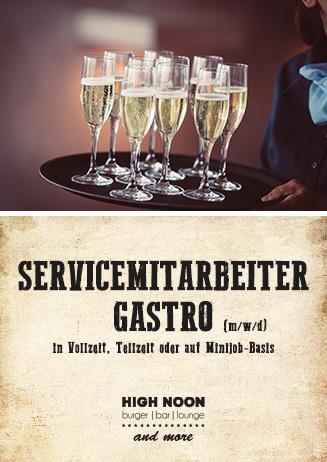 Servicemitarbeiter Gastro (m/w/d)