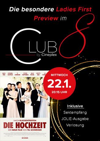 """Die besondere Ladies First Preview im Club 8: """"Die Hochzeit"""""""