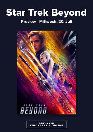 20.07. - Star Trek Beyond - Preview