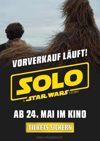 Vorverkauf - SOLO: A STAR WARS STORY