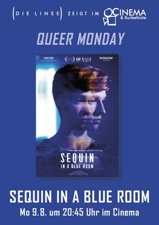Queer Monday: SEQUIN IN A BLUE ROOM--