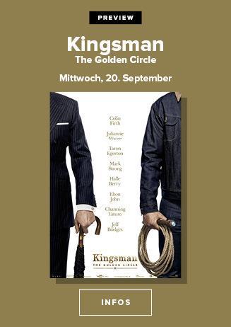 VP Kinigsman - the Golden circle