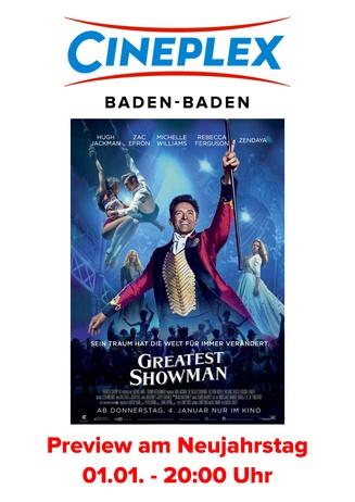 Preview am Neujahrstag: Greatest Showman