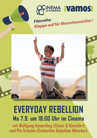 Klappe auf für Menschenrechte (1): EVERYDAY REBELLION
