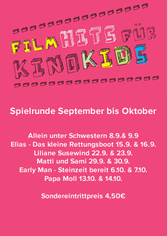 Filmhits für Kinokids