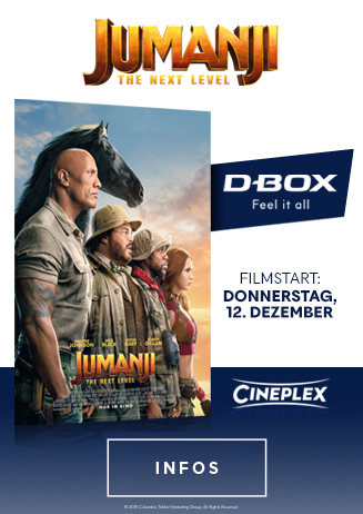 Jumanji: The Next Level | 4D D-Box Motion Seats