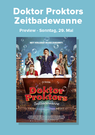 "Preview: ""Doktor Proktors Zeitbadewanne"""