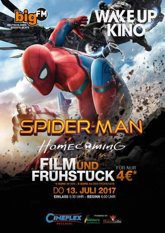 bigFM WakeUpKino: SPIDER-MAN - HOMECOMING