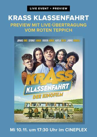 Premieren-Event KRASS KLASSENFAHRT