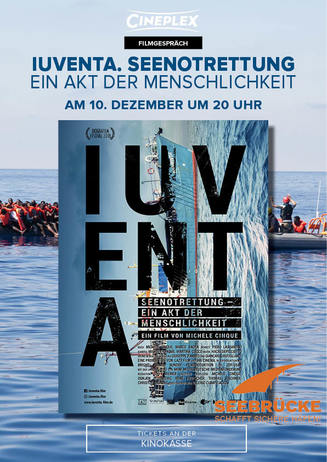 Filmgespräch: Iuventa. Seenotrettung - Ein Akt der Menschlichkeit