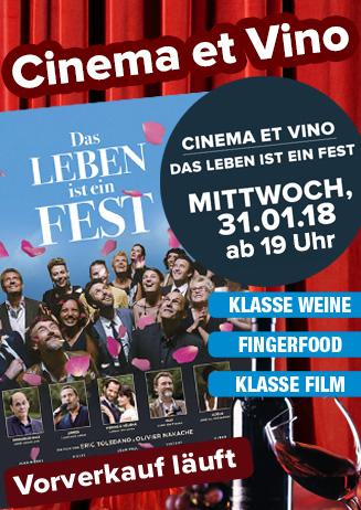Cinema & Vino: Das Leben ist ein Fest