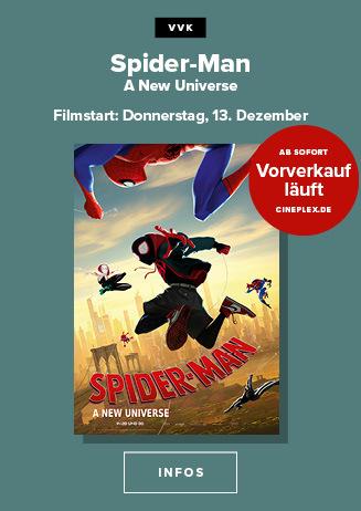 SPIDERMAN - A New Universe 3D - Vorverkauf