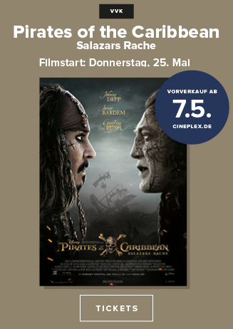 "170507 VVK-Start ""Pirates of the Caribbean - Salazars Rache"""